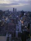 地上90m展望台から名古屋駅方面を見ています