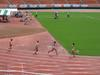 国立霞ヶ丘競技場で行われたトラック競技の様子